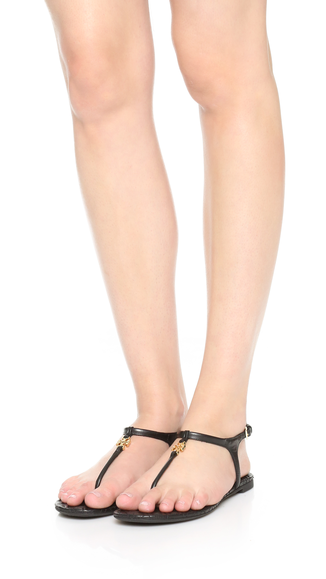 a3f1a2912 Tory Burch Marion Quilted Sandals