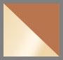 Aged Vachetta/Shiny Gold