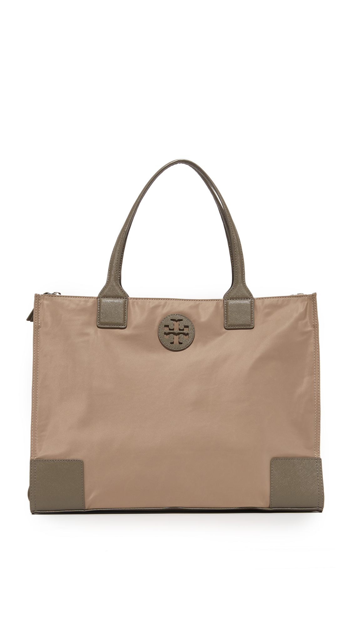 tory burch female tory burch ella packable tote french gray