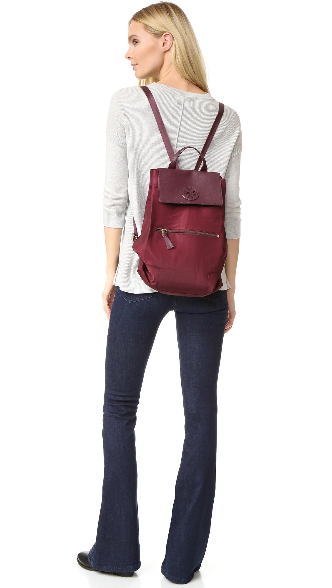 be30be40ef94 Tory Burch Ella Packable Backpack