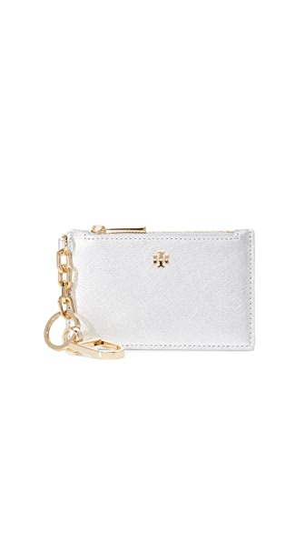 Tory Burch Robinson Slim Card Keyfob