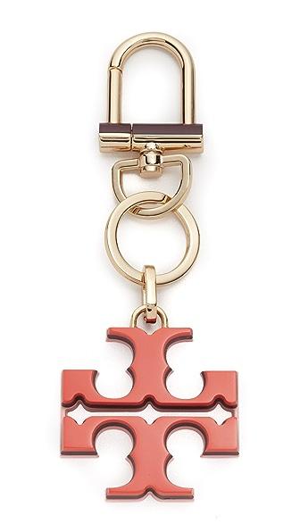 Tory Burch Полимерный брелок с логотипом