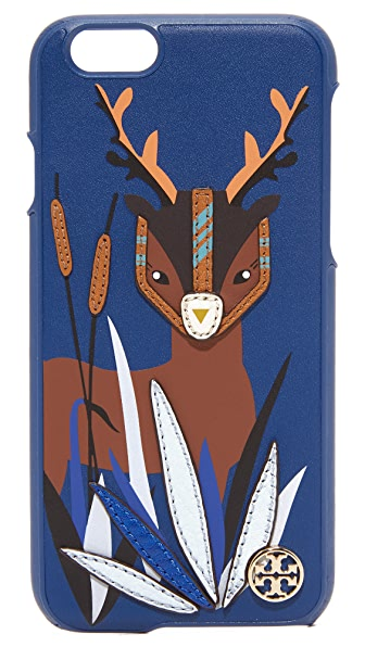 Tory Burch Deer Applique Leather iPhone 6 / 6S Case