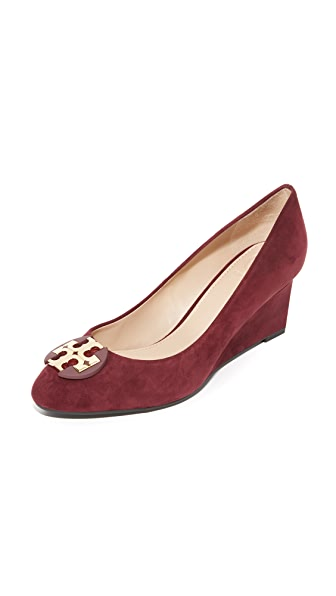 Tory Burch Luna Wedge Pumps