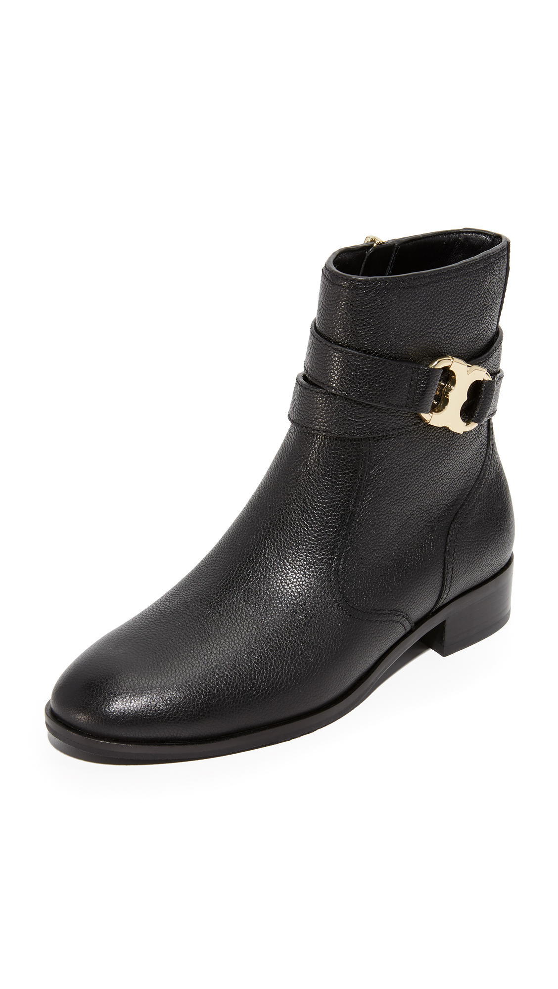 Tory Burch Gemini Link Booties - Black