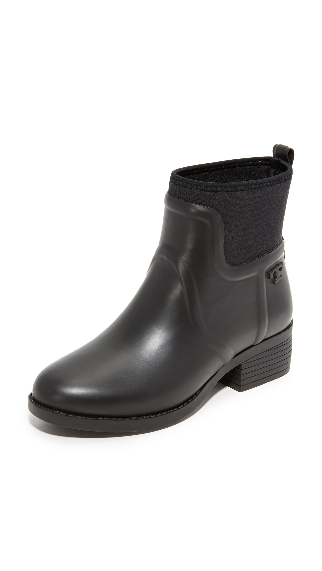Tory Burch April Rain Booties - Black