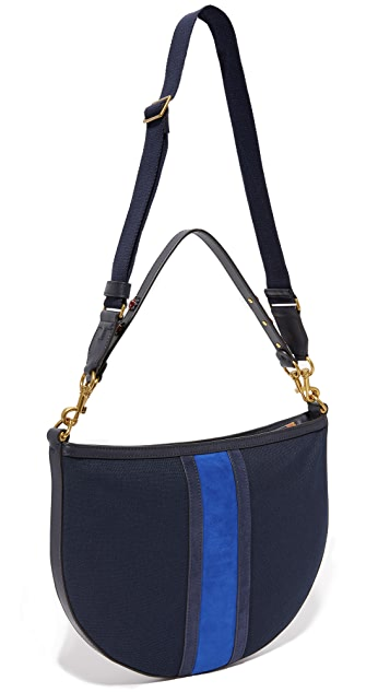Tory Burch Semi Circle Utopia Hobo Bag