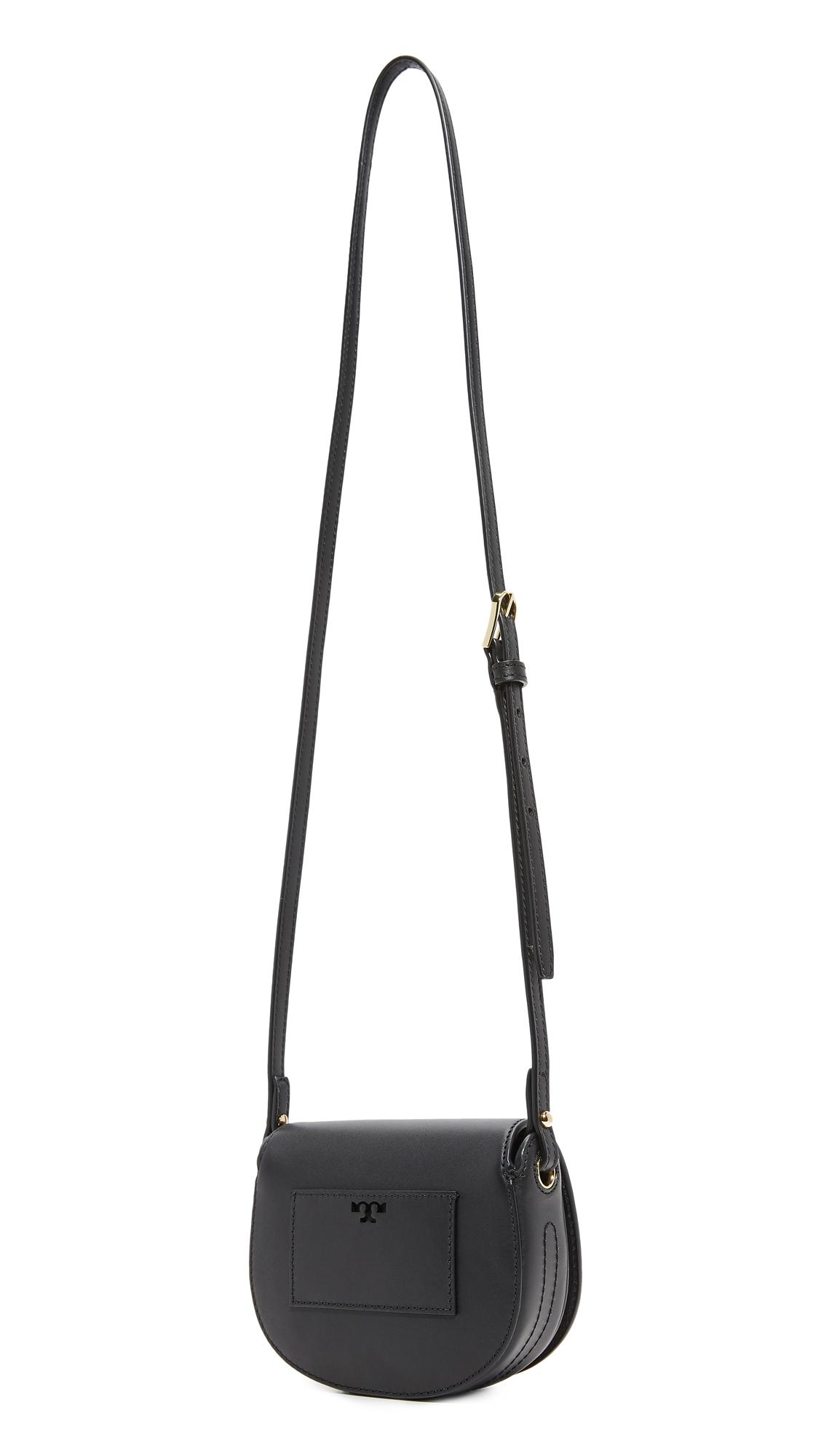 beab89715f Tory Burch Mini Saddle Bag