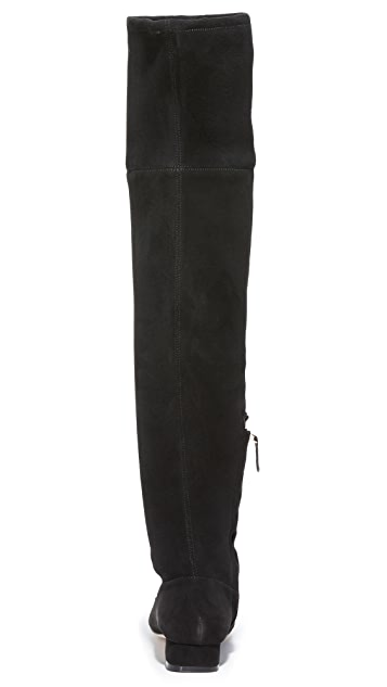 Tory Burch Gigi Stretch Over the Knee Boots