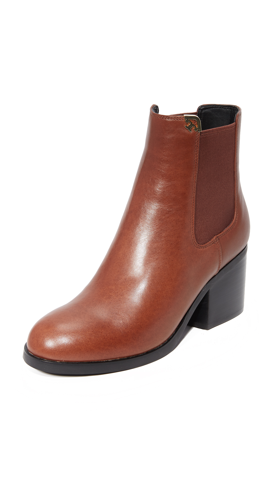 Tory Burch Nicola Booties - Prairie Brown