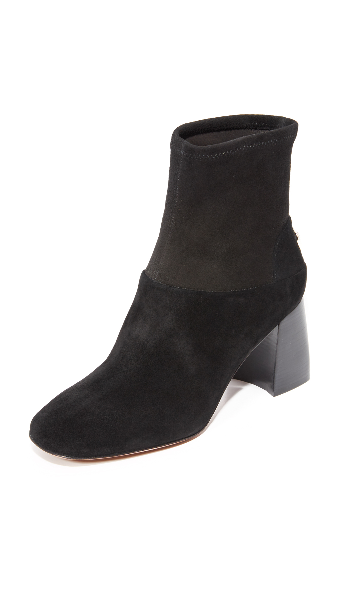 Tory Burch Sidney Booties - Black