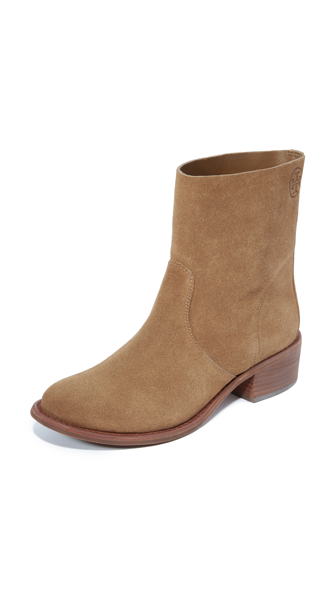 Tory Burch Siena Boots - River Rock