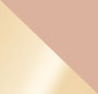 Rose Quartz/Shiny Gold