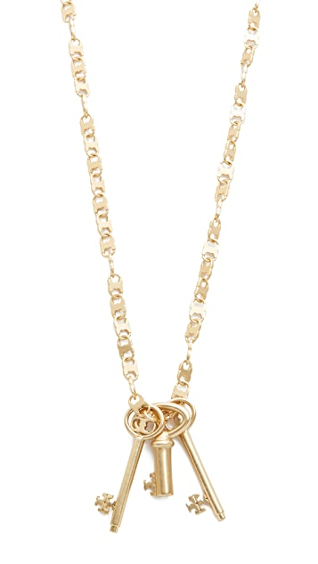 Tory Burch Key Necklace