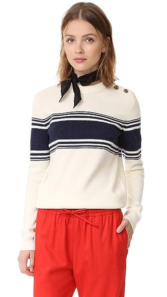 Tory Burch Lukas Sweater - Tuileries Stripe