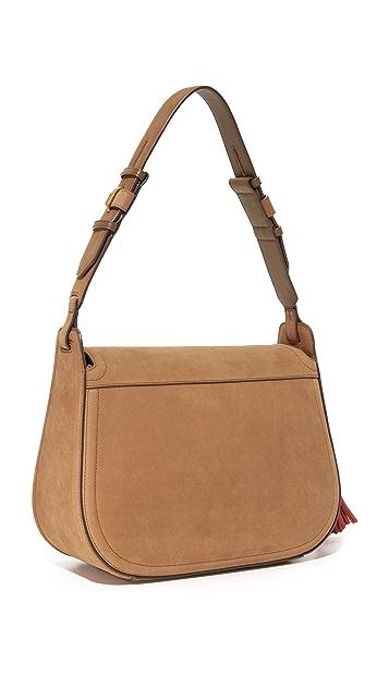 Tory Burch Tassel Large Shoulder Bag
