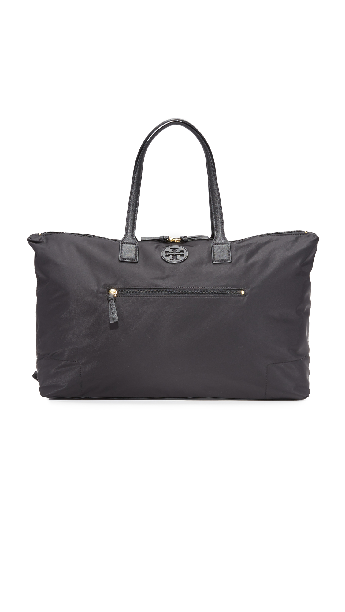 Tory Burch Ella Packable Overnight Satchel - Black at Shopbop