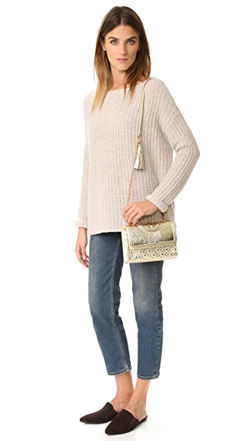 Tory Burch Small Fleming Convertible Shoulder Bag
