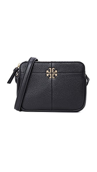 Tory Burch Ivy Micro Zip Cross Body Bag - Black