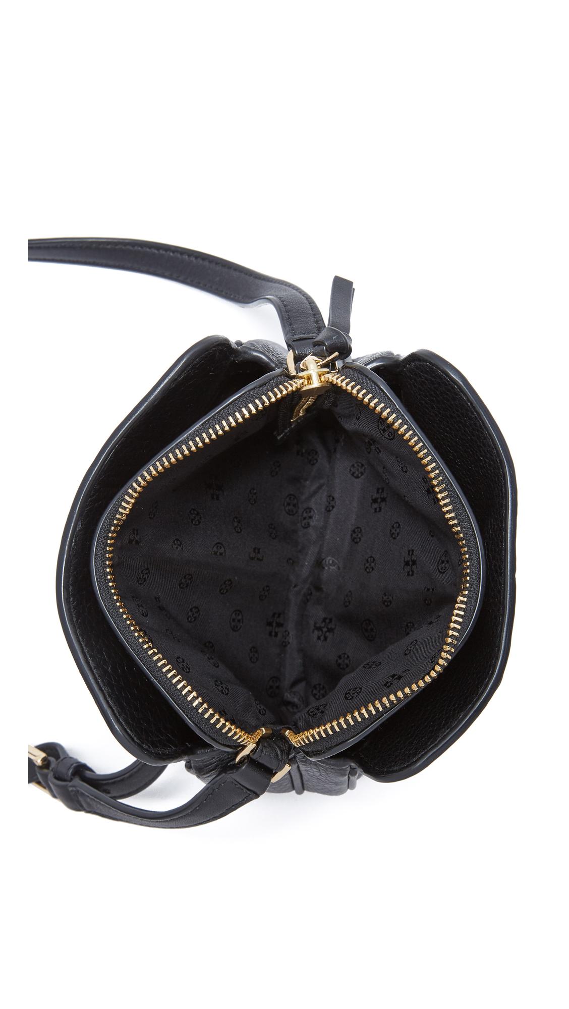 7693dfeef50 Tory Burch Ivy Micro Zip Cross Body Bag