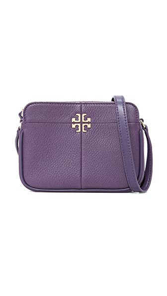 Tory Burch Ivy Micro Zip Cross Body Bag - Nightshade