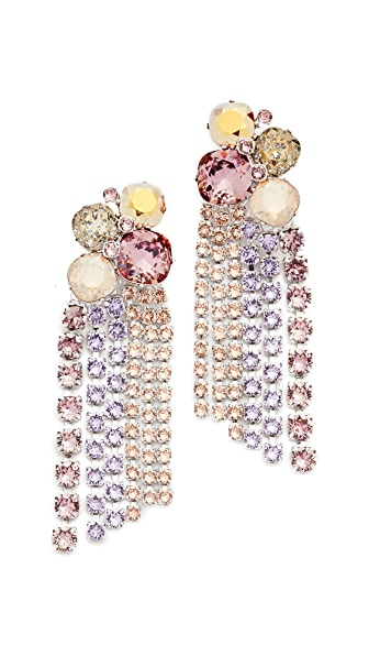 Tory Burch Stone Cascade Earrings