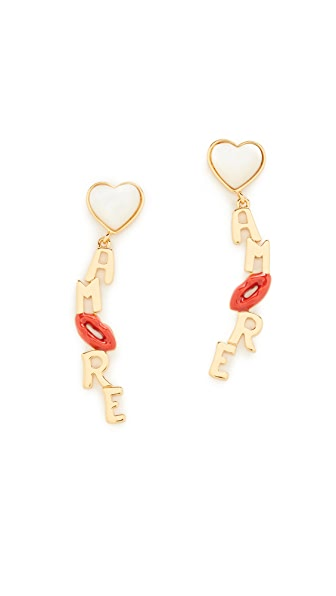 Tory Burch Amore Drop Earrings