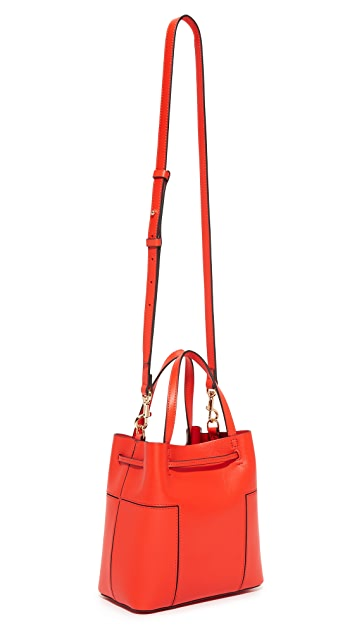 Tory Burch Block T Nano Bucket Bag