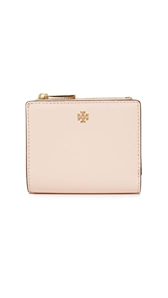 Tory Burch Robinson Mini Wallet - Pale Apricot