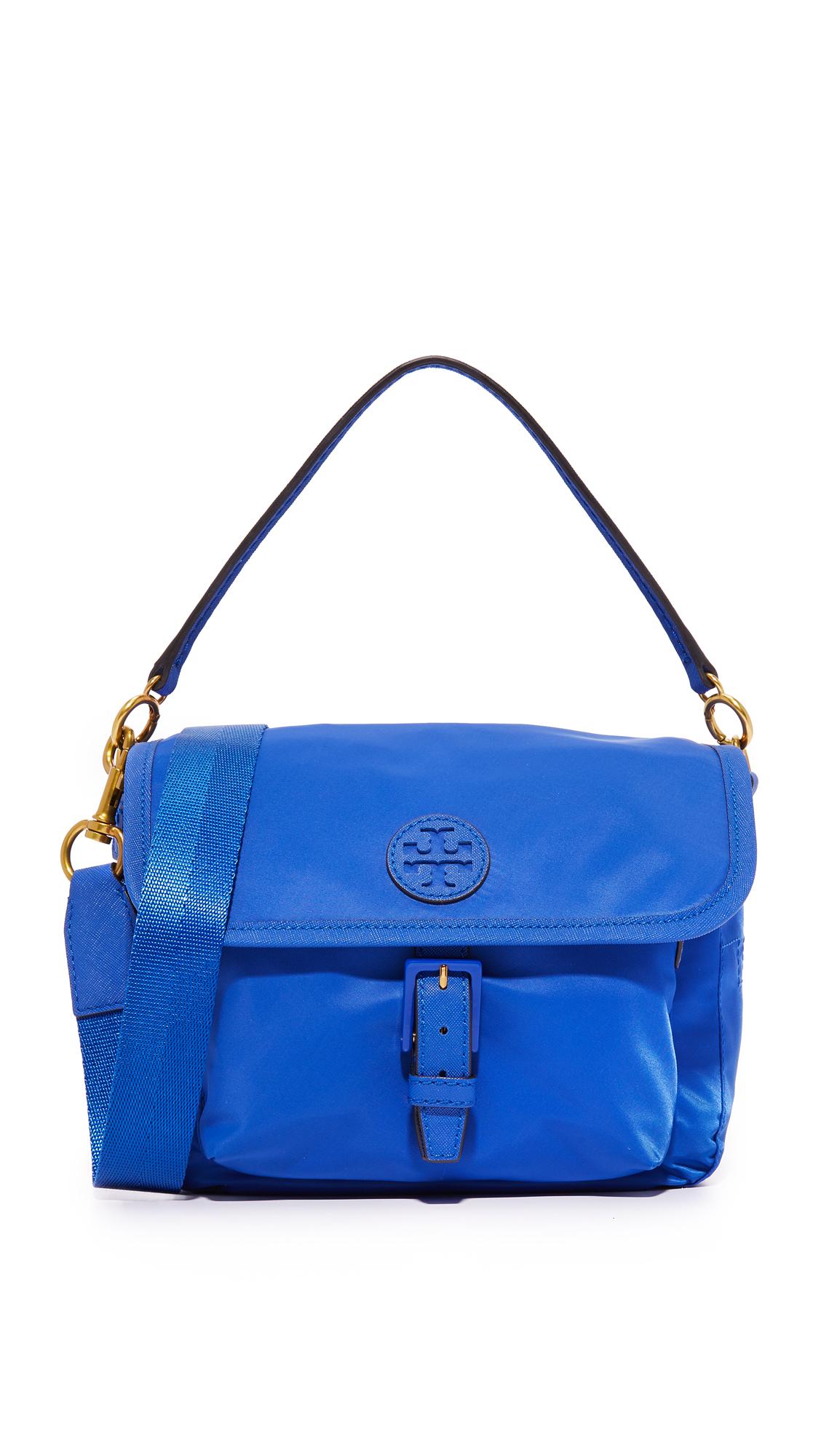 8d60ba0c1f16e Tory Burch Scout Nylon Cross Body Bag