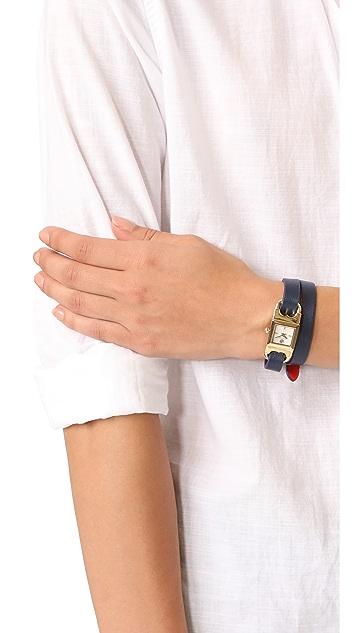 Tory Burch The Gemini Link Duo Strap Watch