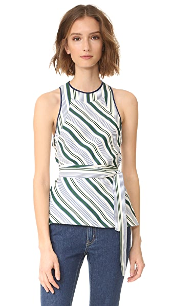Tory Burch Villa Sleeveless Top