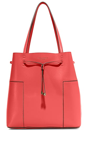 Tory Burch Block T Bucket Tote