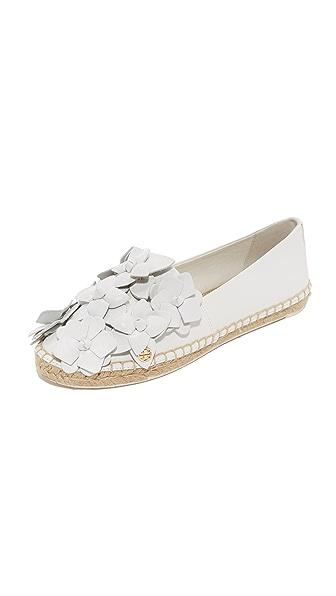 Tory Burch Blossom Espadrilles - White