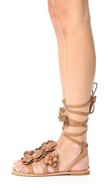 Tory Burch Blossom Gladiator Sandals