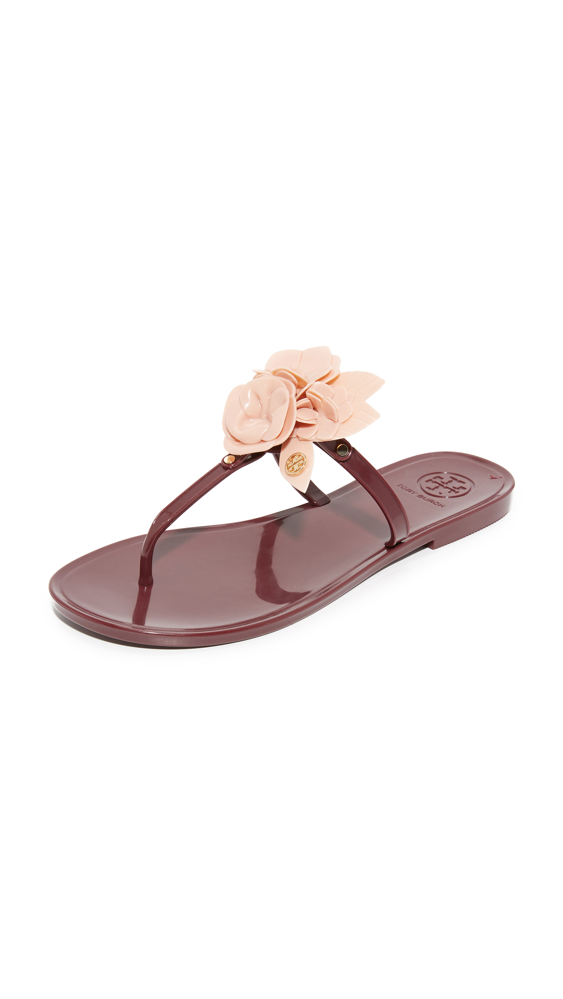 3dee90fce800 Tory Burch Blossom Jelly Thong Sandals