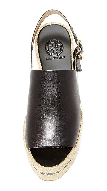 Tory Burch Dandy Platform Espadrille Sandals