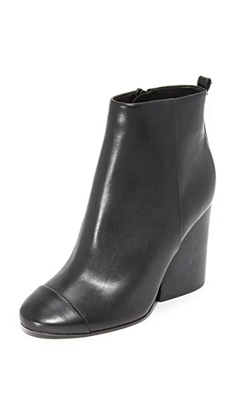 Tory Burch Grove Booties - Black