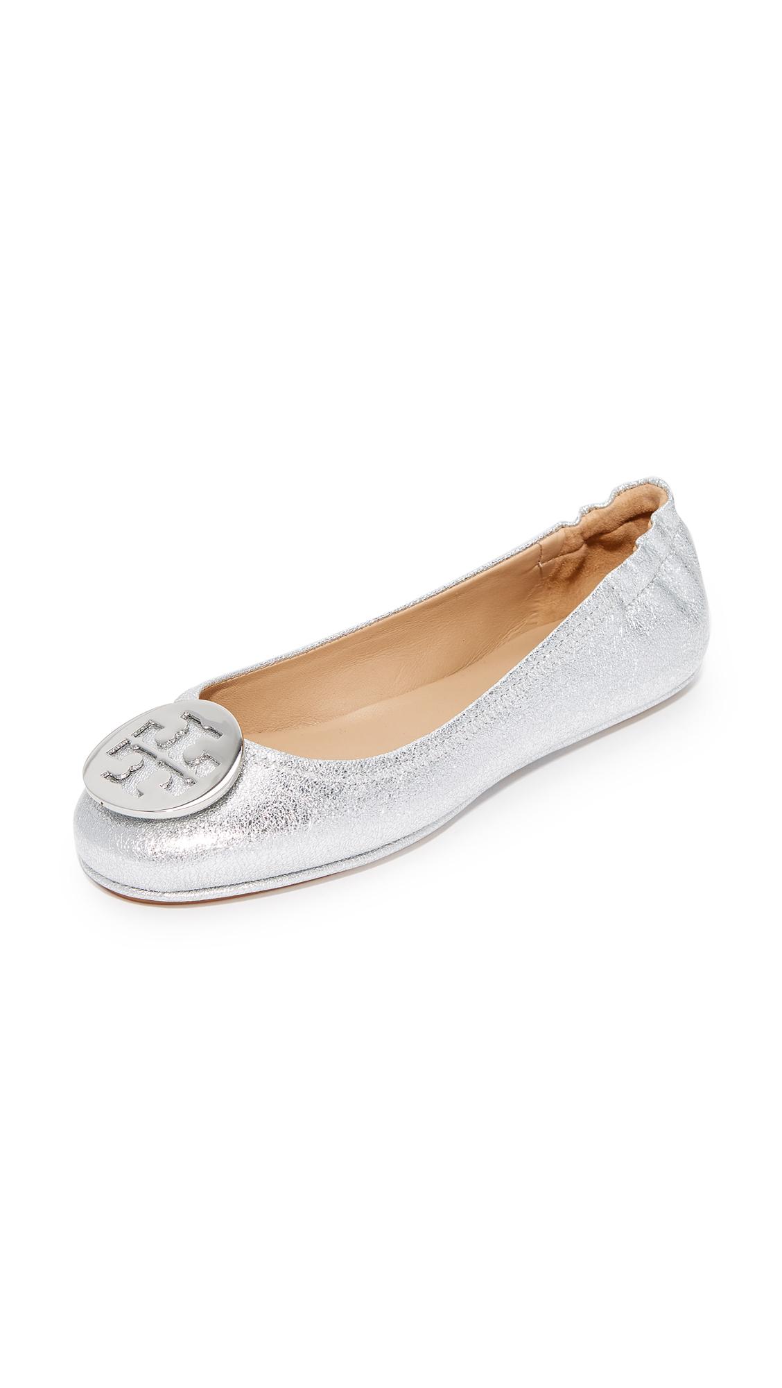 d6c16f20501 Tory Burch Minnie Travel Ballet Flats