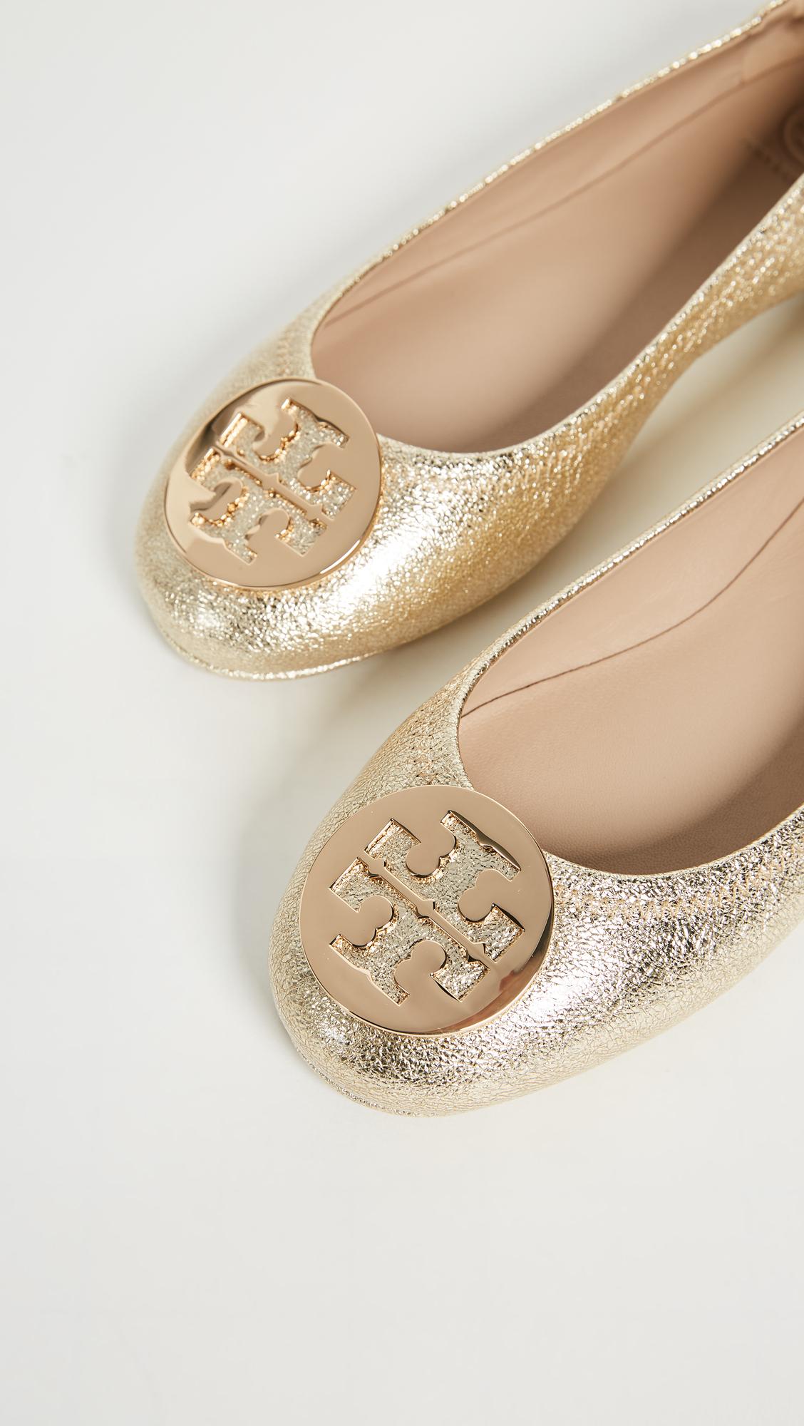 a39e9fc4f9d3a Tory Burch Minnie Travel Ballet Flats