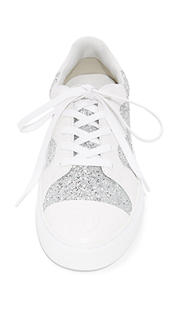 Tory Burch Milo Lace Up Sneakers
