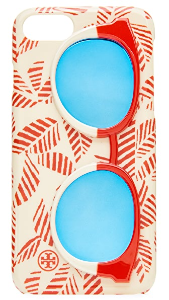 Tory Burch Mirror Sunnies iPhone 7 Case - Palmetto