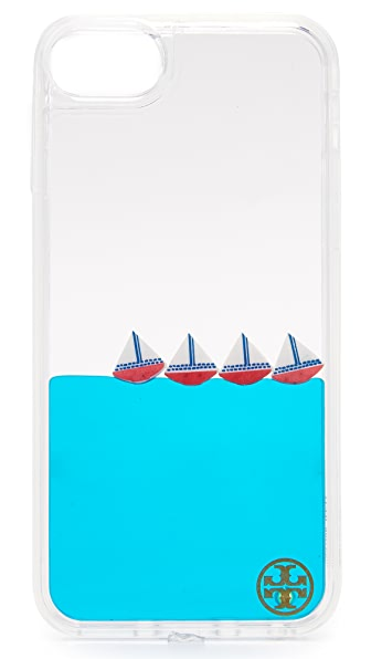 Tory Burch Sailboat Liquid iPhone 7 Case