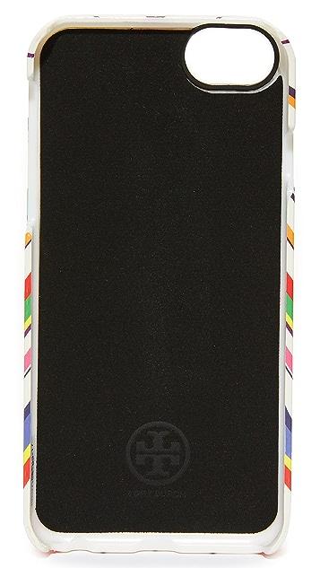 Tory Burch Bright Chevron iPhone 7 Mirror Case