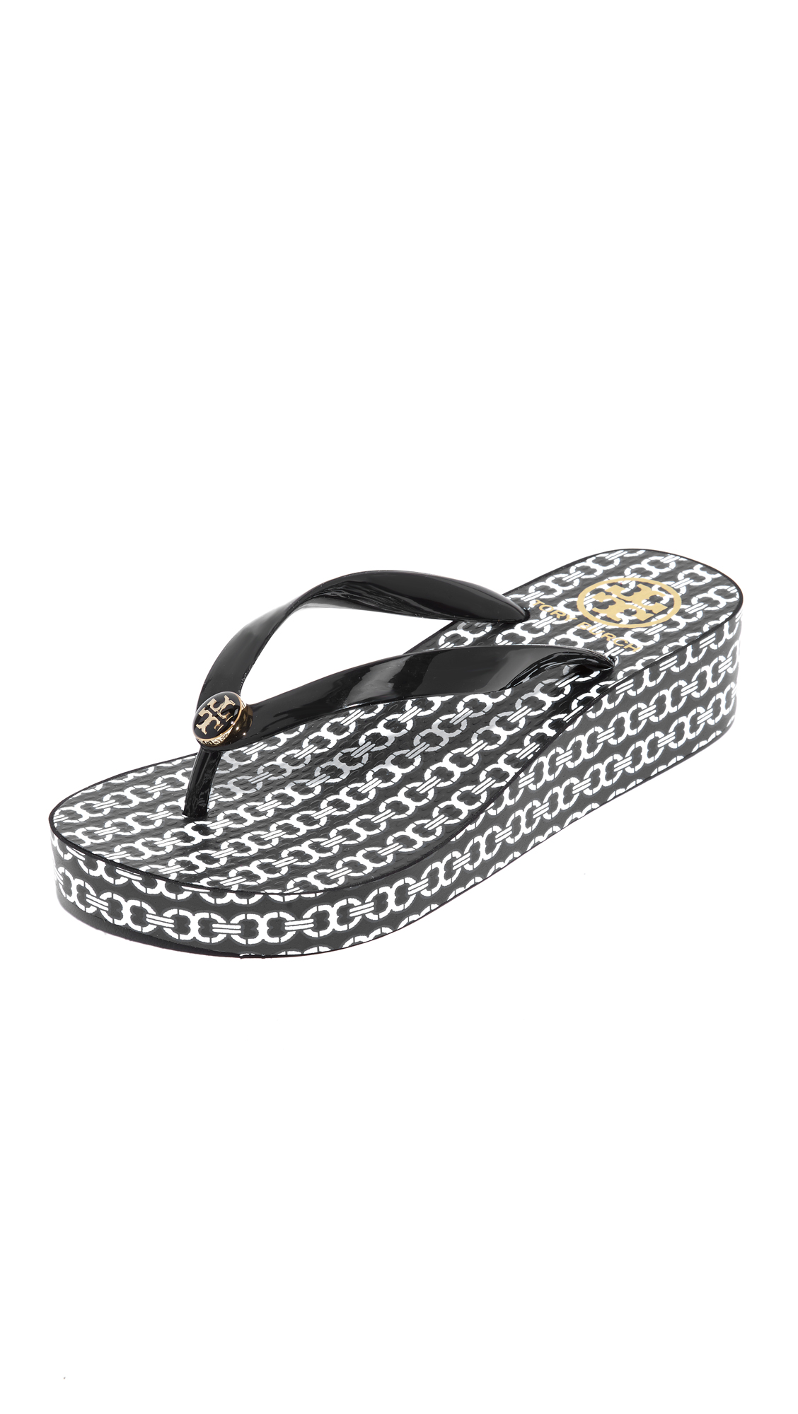 09972bec403f Tory Burch Wedge Flip Flops