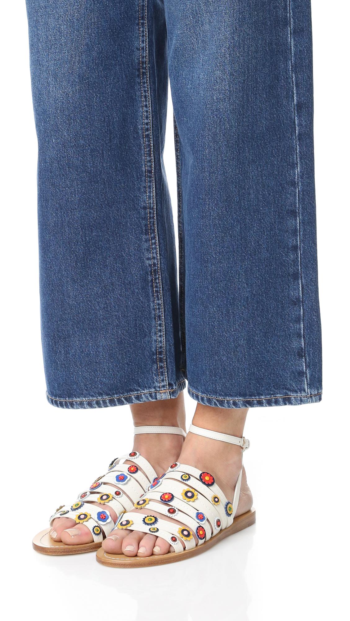 a99bd2b07625 Tory Burch Marguerite Flat Sandals