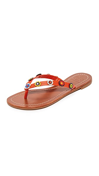 Tory Burch Maguerite Thong Sandals