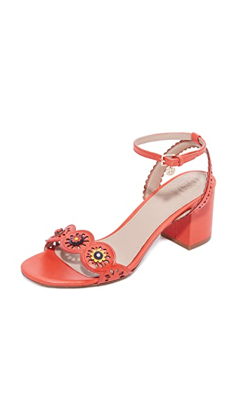 Tory Burch Marguerite Perforated City Sandals