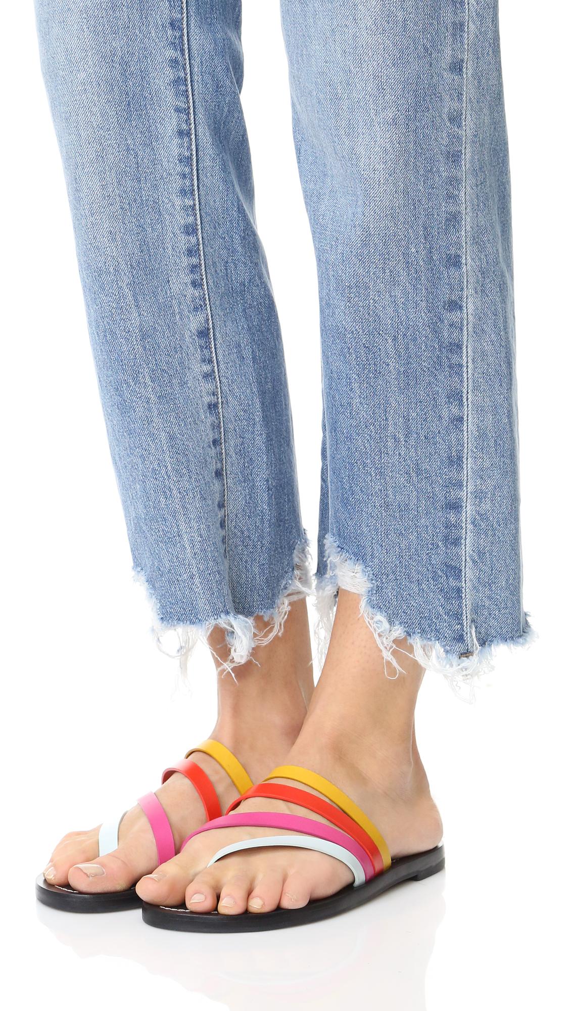 1a0ebeea6d7ac Tory Burch Patos Flat Sandals