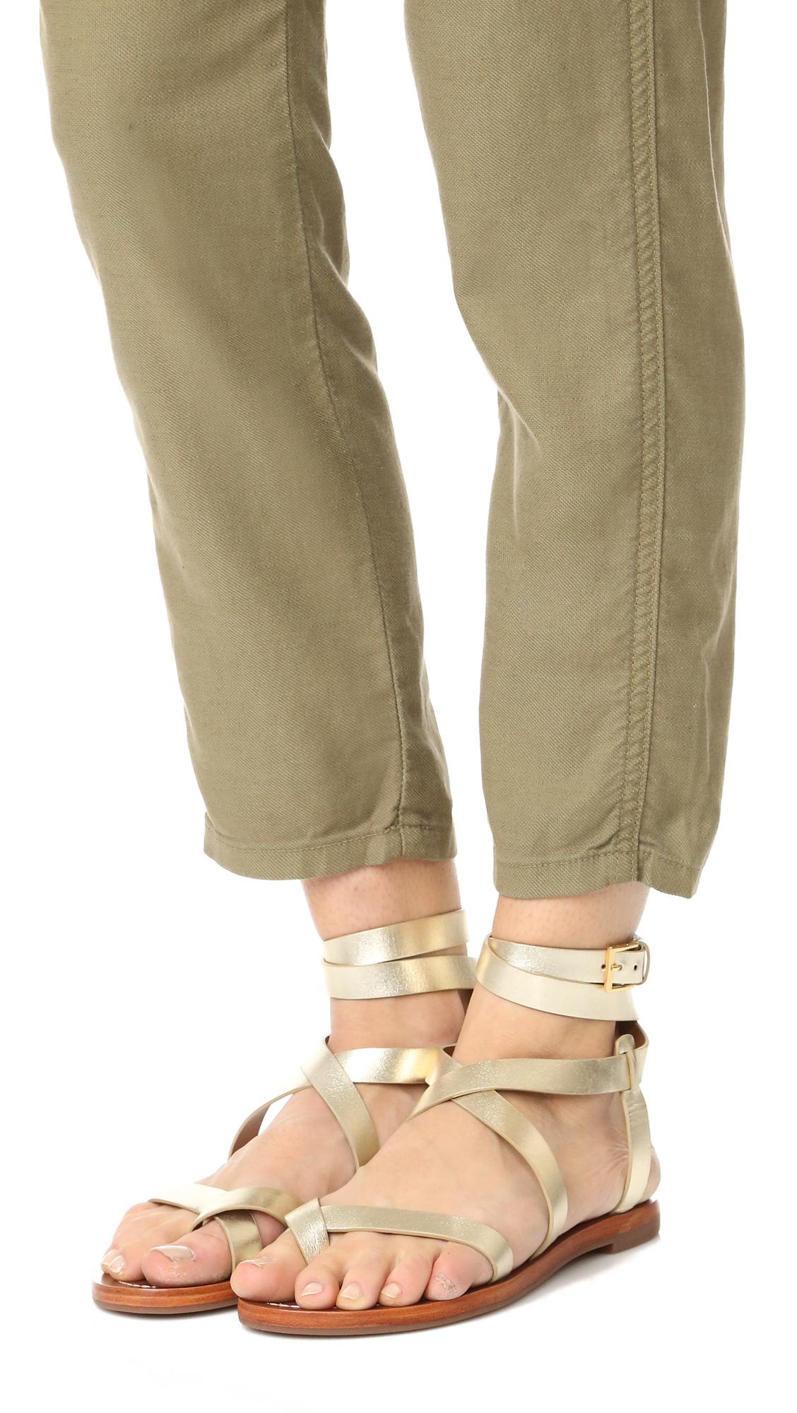 6a1e3f5e91e Tory Burch Patos Sandals